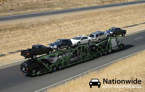 Nine car carrier by Nationwide Auto Transportation