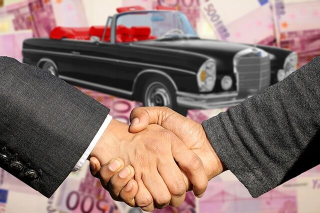 buying a car from a dealership