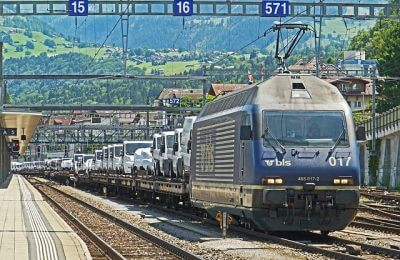ship car by train