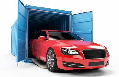 Nationwide Encalosed car carrier shipping