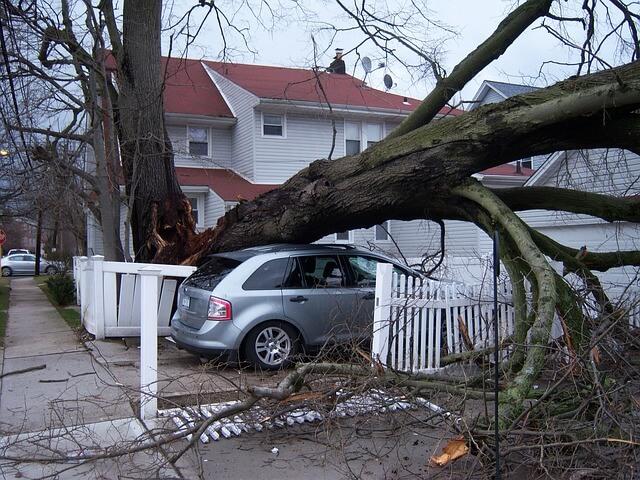 during a hurricane