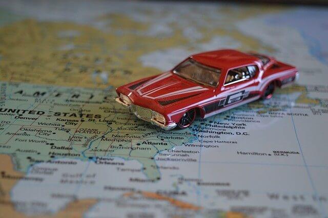 ship a car across the us
