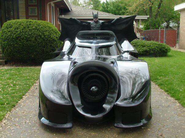 shipping the batmobile
