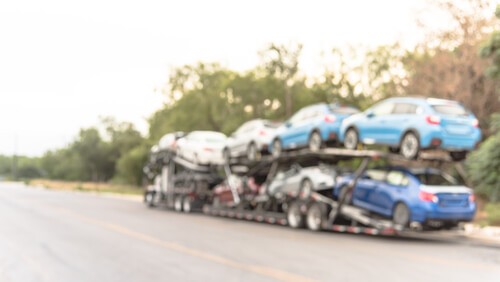 hotshot car hauling