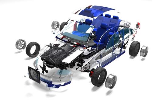 transport large auto parts
