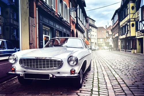 classic vintage antique car
