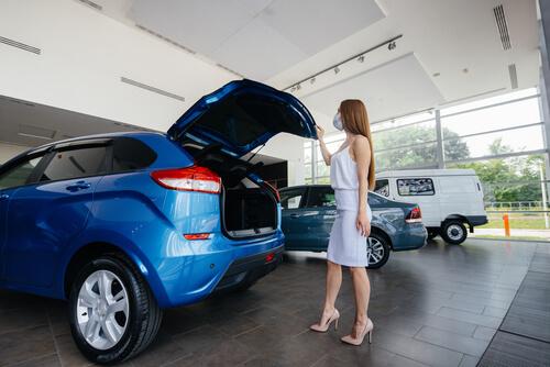 covid-19 car buying