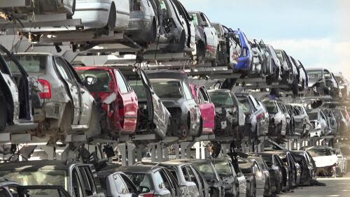shipping a salvage car