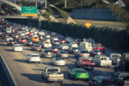 traffic on highway 69