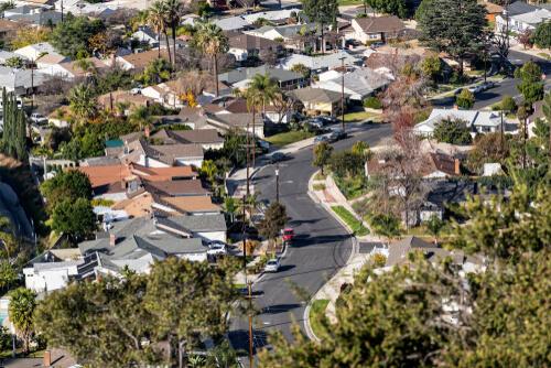 northeast San Fernando Valley area of Los Angeles, California.